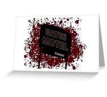 Bates Motel - Alfred Hitchcock Greeting Card