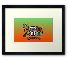 Boo Seasons Framed Print