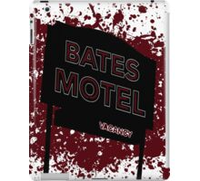 Bates Motel - Alfred Hitchcock iPad Case/Skin