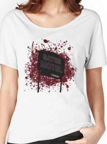Bates Motel - Alfred Hitchcock Women's Relaxed Fit T-Shirt