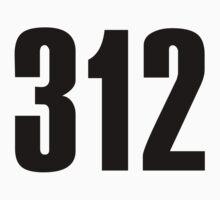 312 Chicago | Phone Area Code Shirts by FreshThreadShop