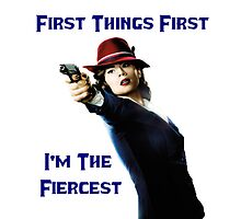 Agent Carter - First Things First I'm The Fiercest by ButterfliesT