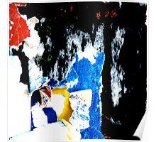 'Peinture Noire' Poster