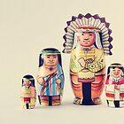 Russian Nesting Dolls by Debbra Obertanec