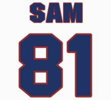 National football player Sam Hurd jersey 81 by imsport