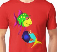 Two Funny Fish Unisex T-Shirt