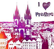 I love Prague by JBJart