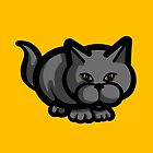 Grey Cat by Sookiesooker