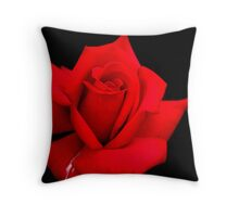 Red Red Rose Throw Pillow