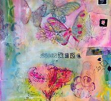 Garden and Butterflies  by sunnyklee