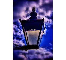 The Blue Lamp Photographic Print