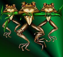 The Three Frogs by Lotacats