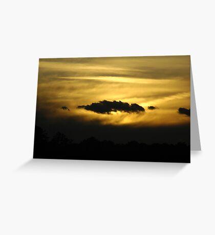 Light Day - Dark Night Greeting Card