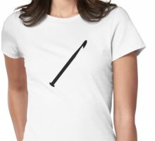 Crochet needle Womens Fitted T-Shirt