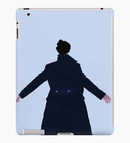 Sherlock The Reichenbach Fall iPad Case/Skin