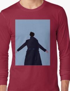 Sherlock The Reichenbach Fall Long Sleeve T-Shirt
