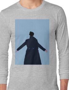 Sherlock The Reichenbach Fall Long Sleeve T-Shirt