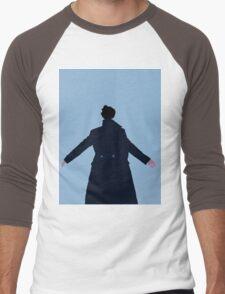 Sherlock The Reichenbach Fall Men's Baseball ¾ T-Shirt