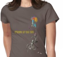 Triumph of the silly  Womens Fitted T-Shirt