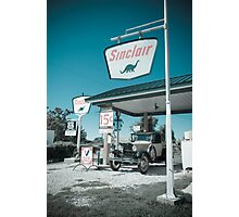 Gay Parita Gas Station. Missouri. (Alan Copson ©) Photographic Print