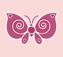 Pink Butterfly by Louise Parton