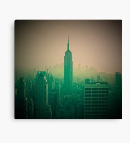 Manhattan Skyline + Empire State Building (Alan Copson © 2007) Canvas Print