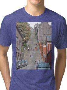 Staircase, Liege, Belgium. Tri-blend T-Shirt