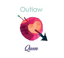 OUTLAW QUEEN LOW POLY Photographic Print