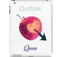 OUTLAW QUEEN LOW POLY iPad Case/Skin
