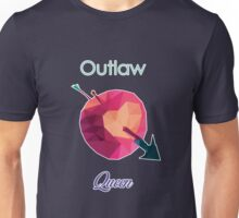 OUTLAW QUEEN LOW POLY Unisex T-Shirt