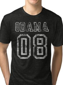 Barack Obama 08 t shirt Tri-blend T-Shirt