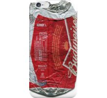 Budweiser - crushed tin iPhone Case/Skin