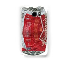 Budweiser - crushed tin Samsung Galaxy Case/Skin