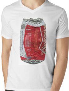 Budweiser - crushed tin Mens V-Neck T-Shirt