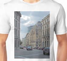 Street scene, Brussels, Belgium Unisex T-Shirt