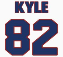 National football player Kyle Rudolph jersey 82 by imsport