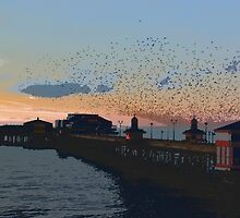 Blackpool North Pier by Gavin Stanfield