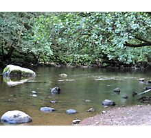 River Valley - Calm Water Photographic Print