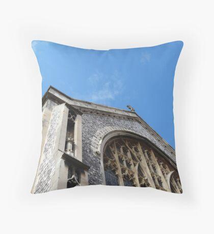 cromer church Throw Pillow