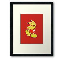 MIKACHU Framed Print