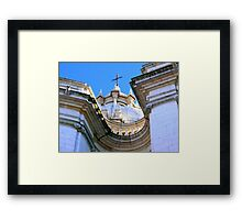 Baroque Architecture Framed Print