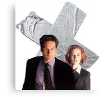 The X-Files Metal Print