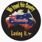 T-shirt for Motorhome and Australia Lovers by Jose M.F. Rebelo