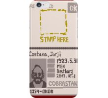 Papers Please - Fake Passport iPhone Case/Skin
