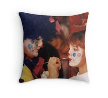 Bring in the Clowns Throw Pillow