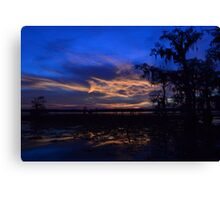 Glass and Fire Canvas Print