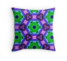 Psychedelic Pillow Cover / Tote Bag 1 Throw Pillow
