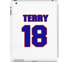 National football player Terry Guess jersey 18 iPad Case/Skin