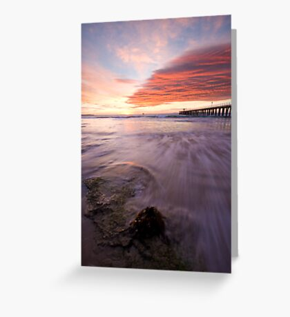 Into The Sun Greeting Card