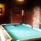 A pool table  by Rachel Counts